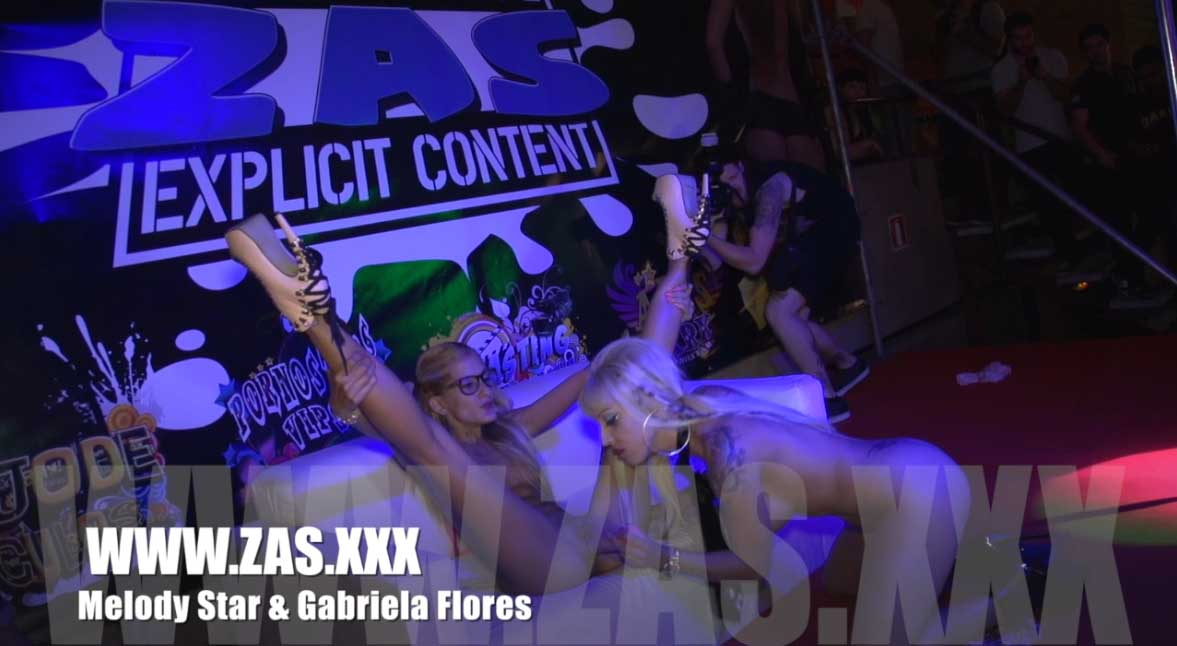 Show porno Gratis Melody Star y Gabriela Flores