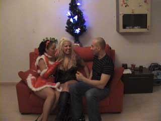 (Parte 1) Casting Porno en navidad con Lidya Rouge y Leire Russo